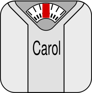Loss clipart weight scale Vector art  Scale com