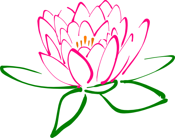 Lotus clipart Two Clip Lotus Clip and