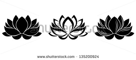 Simple clipart lotus Cliparts Silhouette Lotus Lotus Flower