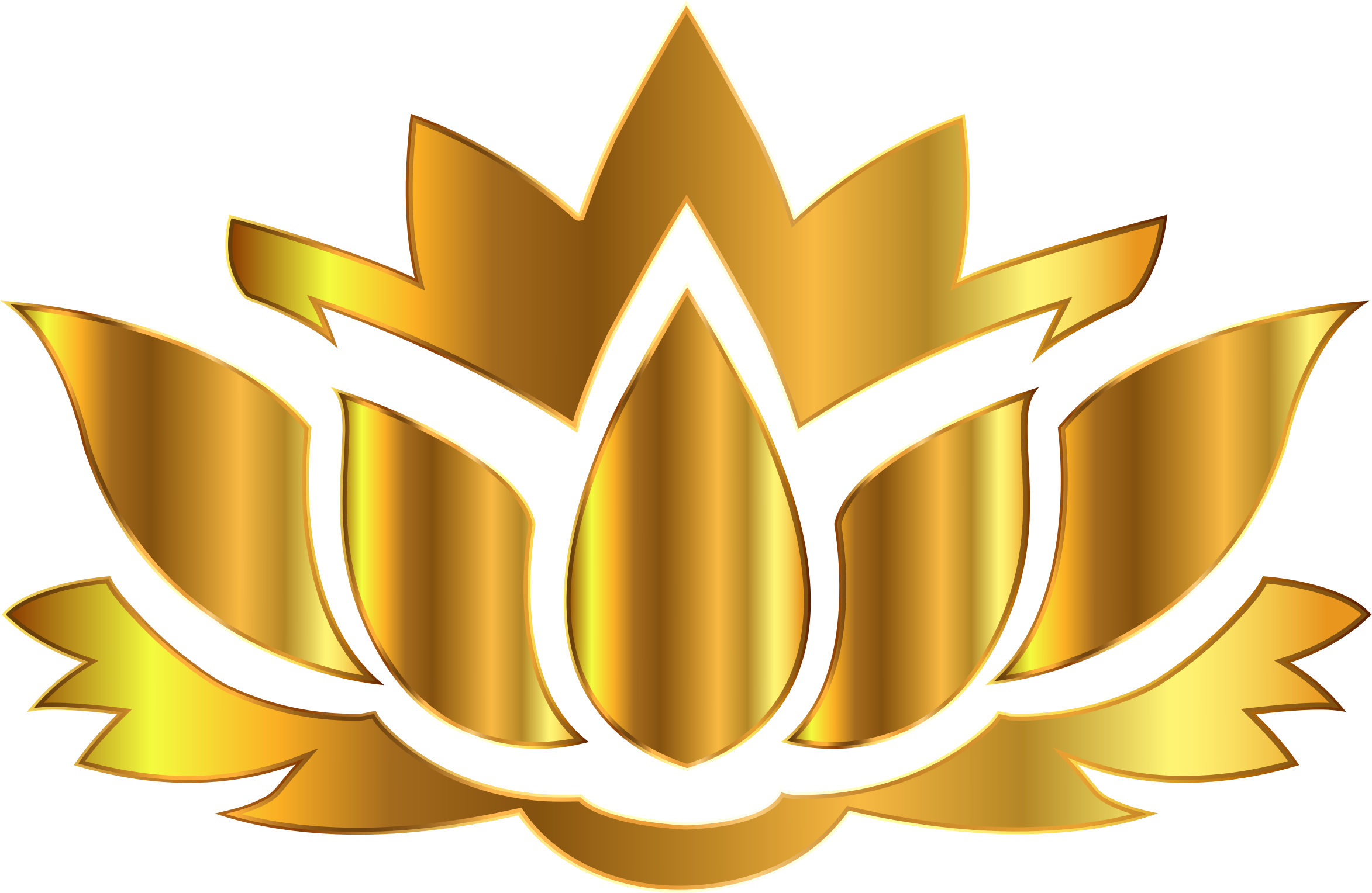 Beautiful clipart gold flower Design Lotus Flower Background Gold