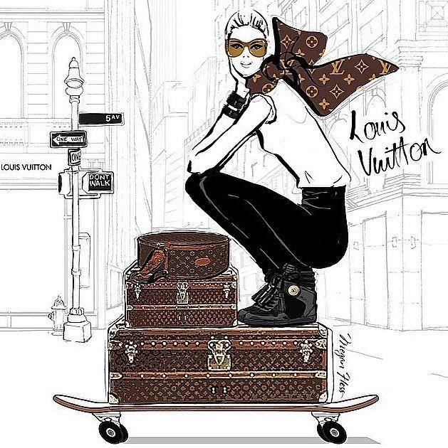 Louis Vuitton clipart Louis Vuitton on 46 Pinterest