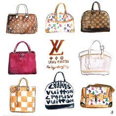 Louis Vuitton clipart Planner clipart Louis Vuitton clipart