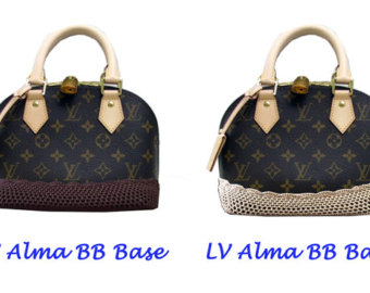 Louis Vuitton clipart alma Handmade Handle Louis Vuitton beige