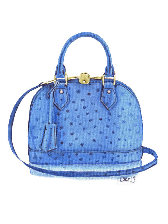 Louis Vuitton clipart alma Oil Sapphire Vuitton painting Louis