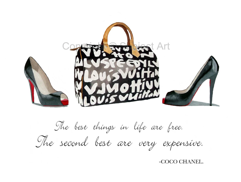 Chanel clipart louboutin Graffiti ART vuitton of Bag