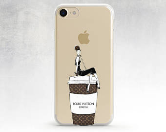 Louis Vuitton clipart channel Chanel iphone Clear Iphone Case