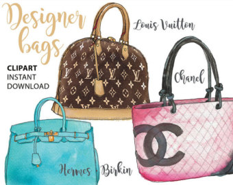 Louis Vuitton clipart channel Etsy stencil girl Chanel Chanel
