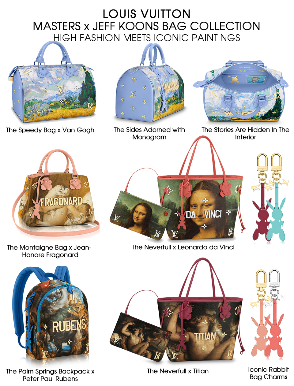 Louis Vuitton clipart designer handbag X Koons Masters Jeff Masters
