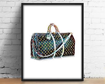 Louis Vuitton clipart famous fashion Art Fashionista LV art Louis