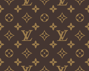 Louis Vuitton clipart gold Louis Logo sugar frosting inspired