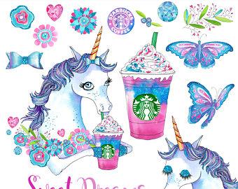 Louis Vuitton clipart guchi LV Cute unicorn graphics art
