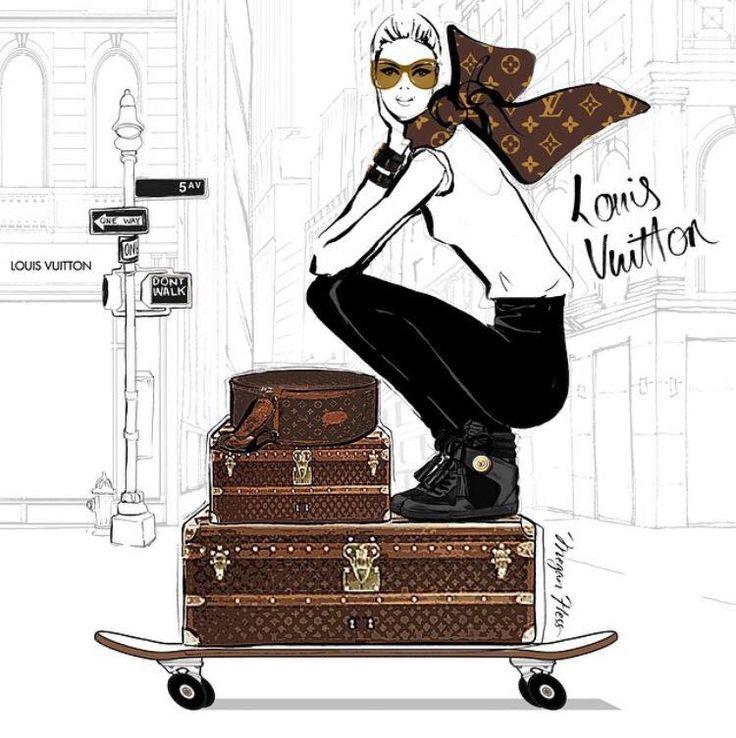 Louis Vuitton clipart italian fashion Pinterest Vuitton about hess megan