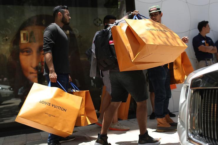 Louis Vuitton clipart lil wayne Crowds Vuitton Their Cancelled That