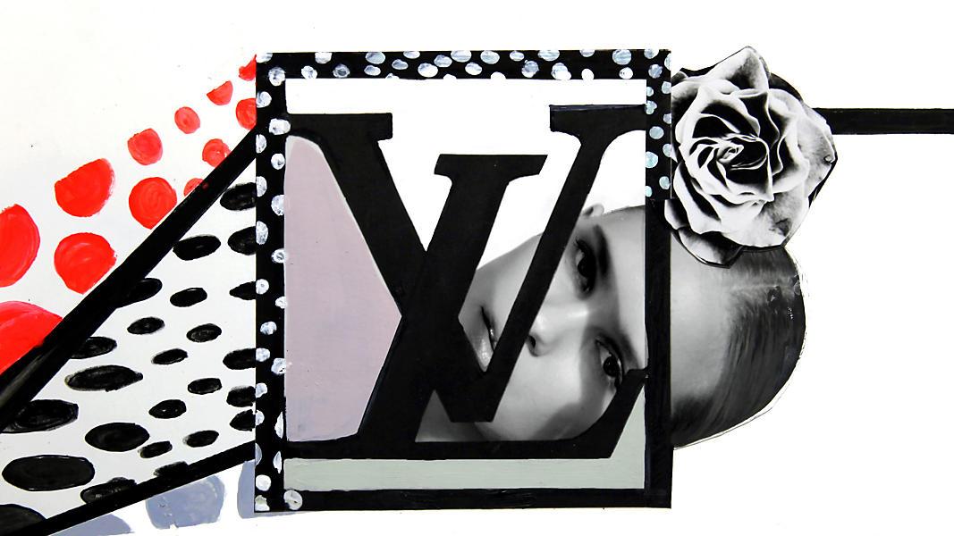 Louis Vuitton clipart louis vitton Vuitton Art POSTCARD JONES POSTCARD