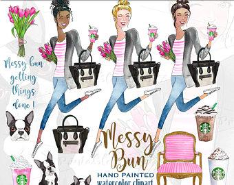 Louis Vuitton clipart popular fashion Louis clipart fashion terrier girl