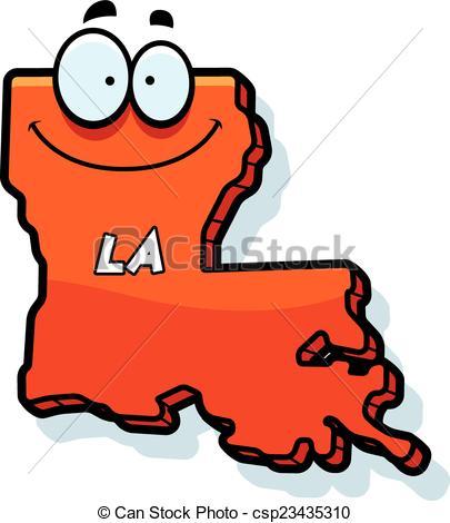 Louisiana clipart Vector illustration cartoon Cartoon Cartoon