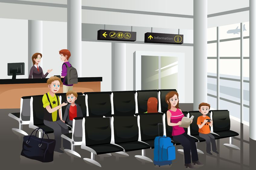 Lounge clipart airport building Lounges Porter for Airlines Family