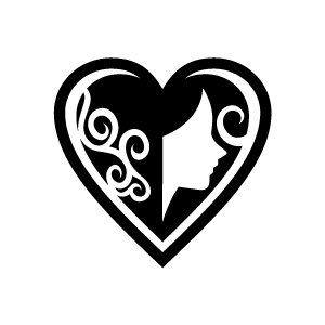 Amd clipart love Black Heart of and Red