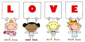 Cards clipart kid Angels Clipart Image child Four