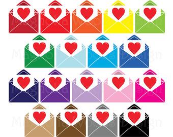 Love clipart envelope #13