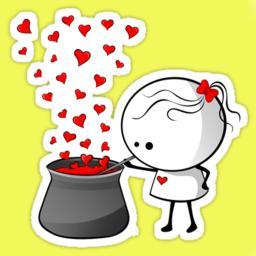 Love clipart flirty #4