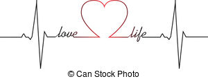 Love clipart heartbeat #12