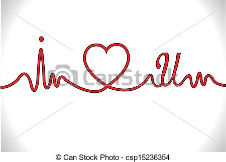 Love clipart heartbeat #11