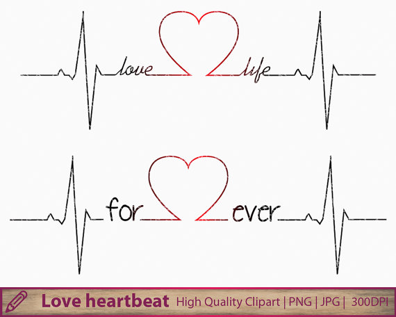 Love clipart heartbeat #9