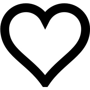 Hearts clipart heart outline  Heart Free Clipart Clip