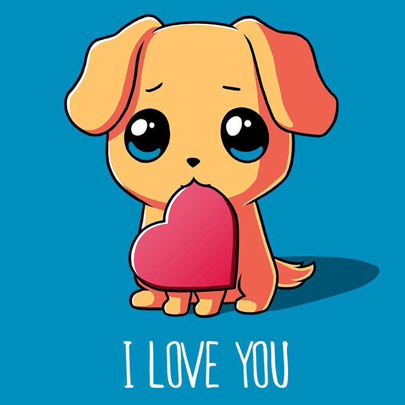 Drawn puppy puppy love Shirts shirt Love cute TeeTurtle