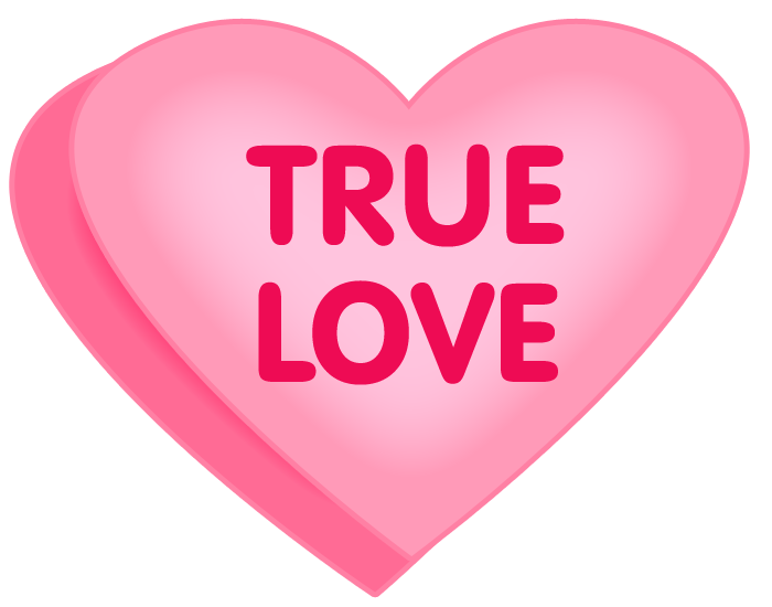 Candy clipart cotten True Clipart Heart Love Clipart