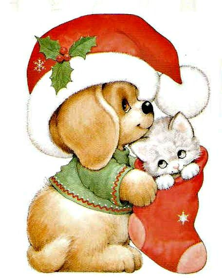 Merry Christmas clipart child 126 in M to love