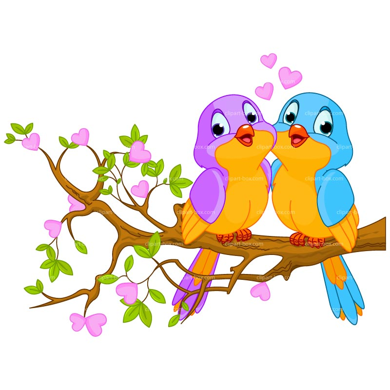 Lovebird clipart Top dromggm Clipartix top Love