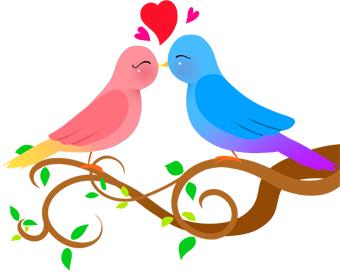 Lovebird clipart Clip wedding clip clip art