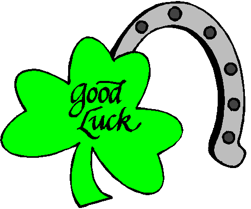 Luck clipart Clipart Good luck clipart Good