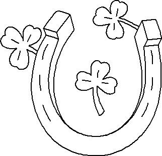 Luck clipart black and white Clip Horses images on best