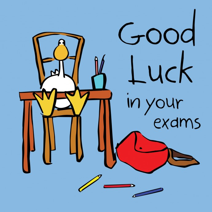 Luck clipart final exam The Good Music With Conservatory