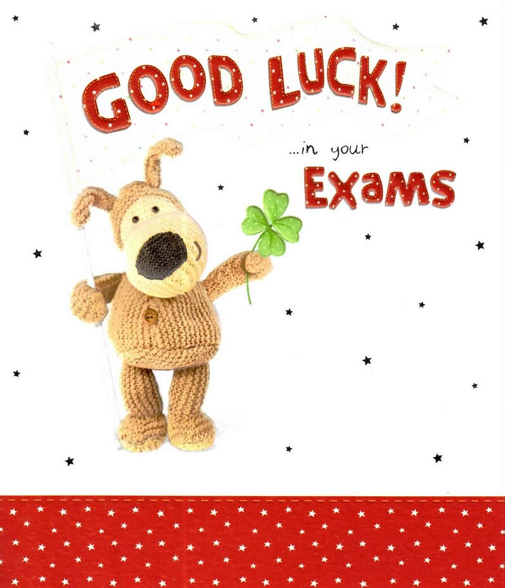 Luck clipart final exam And superstitions Boofle Card luck
