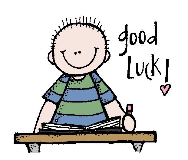 Luck clipart final exam WISHES luck good Beautiful GOOD