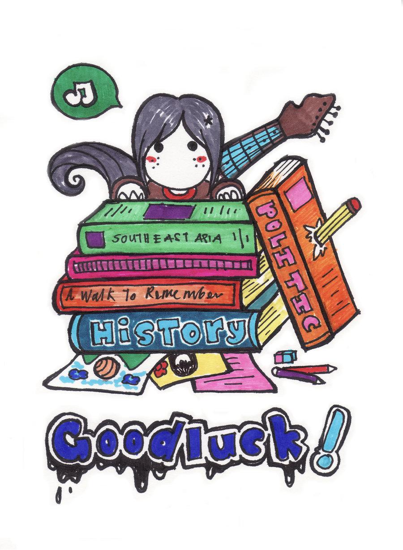 Luck clipart final exam On azahGTA final Goodluck exam