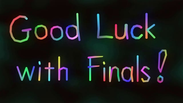 Luck clipart final exam Good Luck Exams Good With