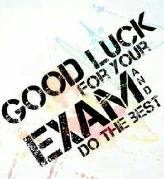 Luck clipart final exam Good Exam luck Good ideas