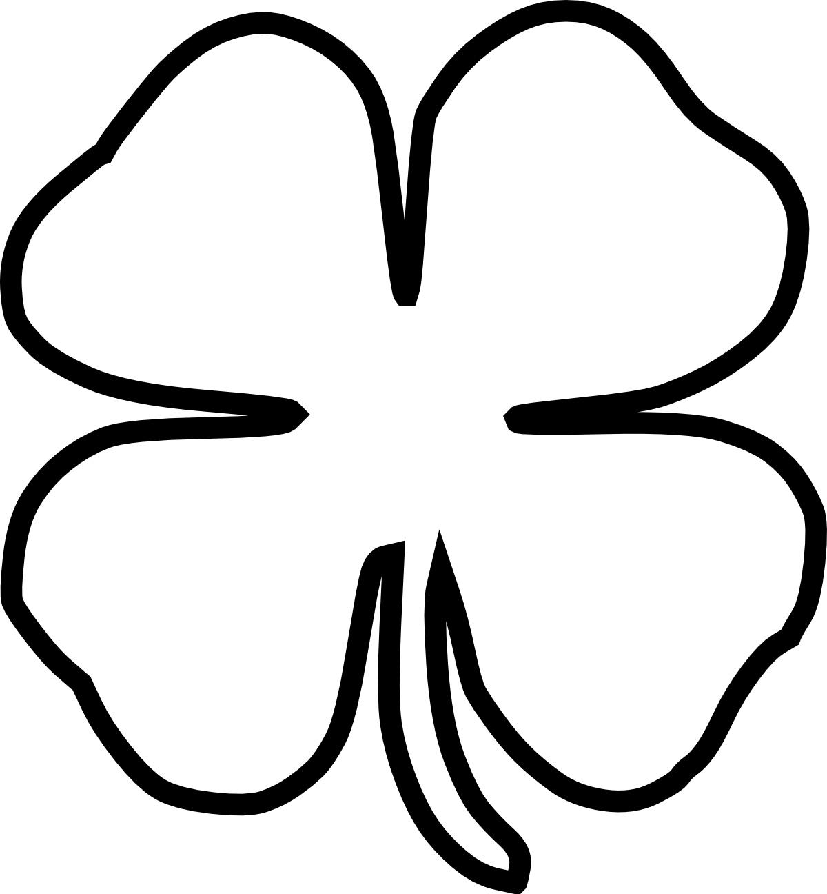 Luck clipart four leaf clover Leaf Clip Free Download Art