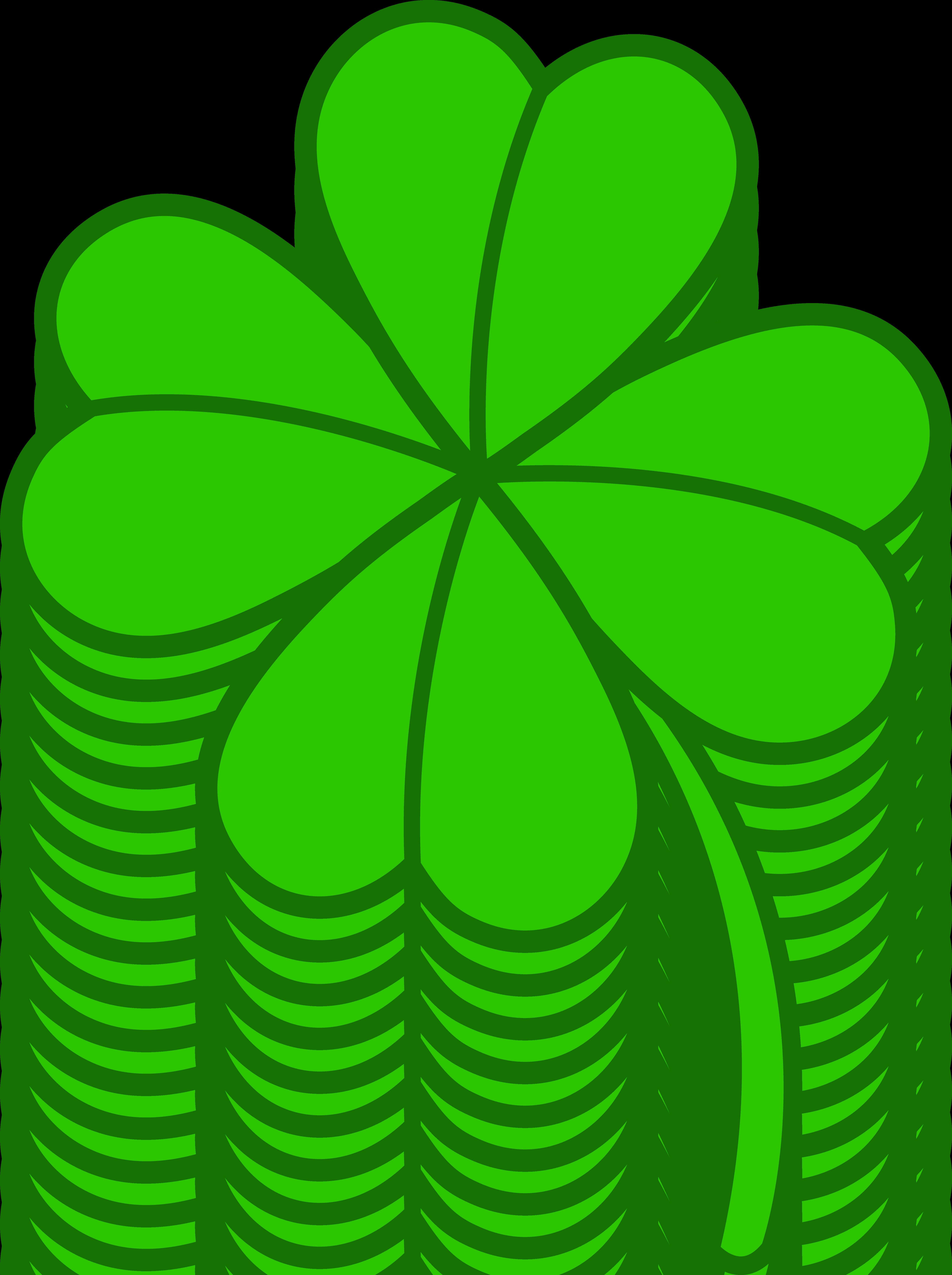 Clover clipart four leaf clover Four Version 2 Clover Leaf