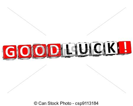 Luck clipart gud Csp9113184 text Luck Cube Drawing