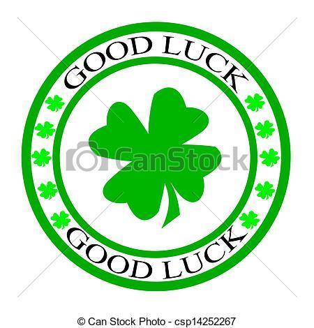 Luck clipart gud Good luck inside Stamp luck