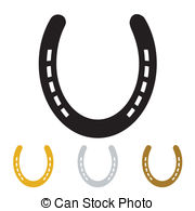 Horseshoe clipart lucky  9 Illustrations lucky horseshoe