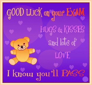 Luck clipart kid exam Exam you'll images Exam best