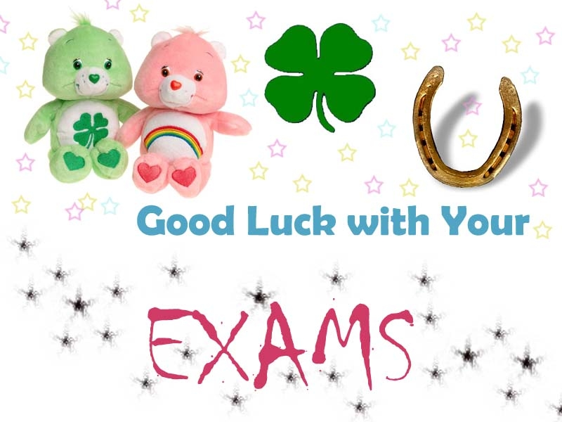 Luck clipart kid exam Exams Good Exams For Picture