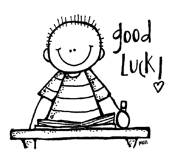 Luck clipart kid exam Final Free Free Art Art